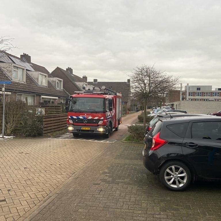 P 2 BDH-02 Alarm rookmelder Zuiderstraat SASSHM 169235